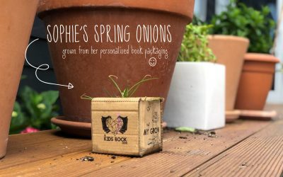 Take packaging from guilty recycling into planters